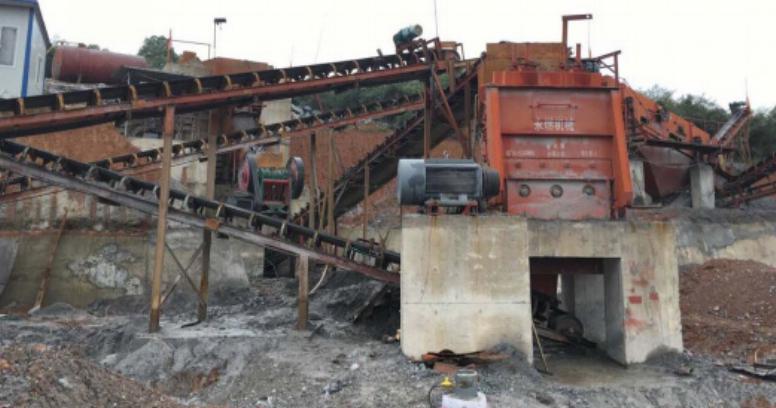 枝江每小时200吨建筑垃圾处理现...