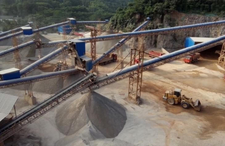 宜都时产300吨制砂现场
