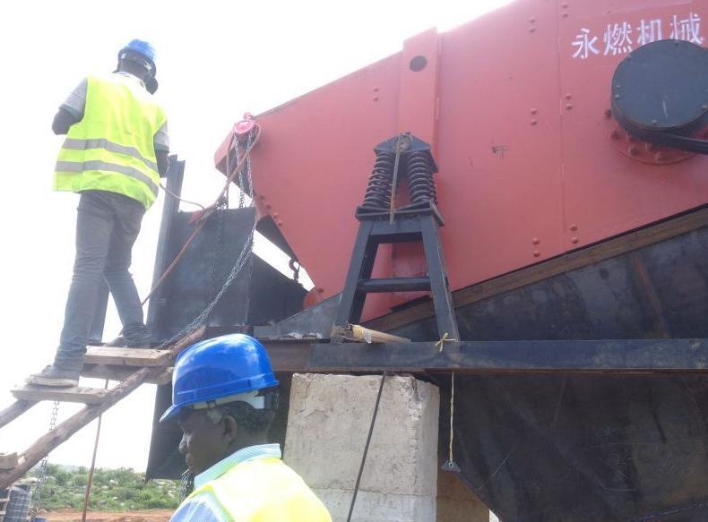 埃塞俄比亚时产500吨碎石生产线...